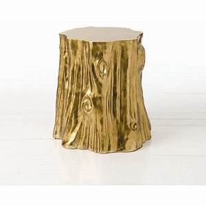 Golden 39Cut Stump39 Table Neiman Marcus