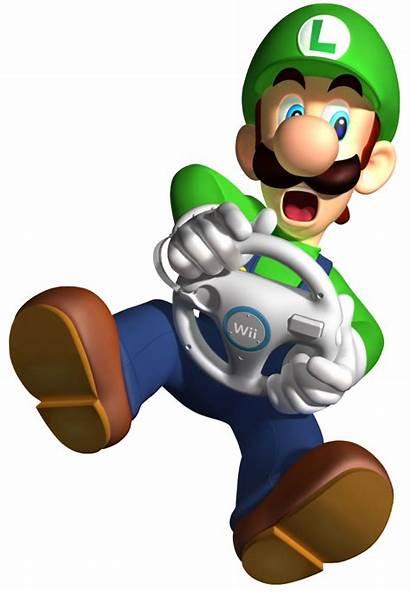 Luigi Mario Kart Wii Bros Render Purepng