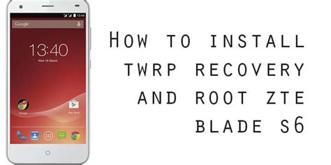 How To Install Twrp And Root The Zte Axon 7 Termurah 2018