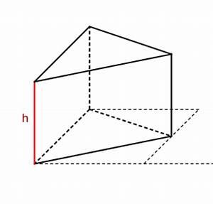 Volumen Eines Prismas Berechnen : das volumen eines prismas mit einem dreieck als grundfl che ist das pictures to pin on pinterest ~ Themetempest.com Abrechnung
