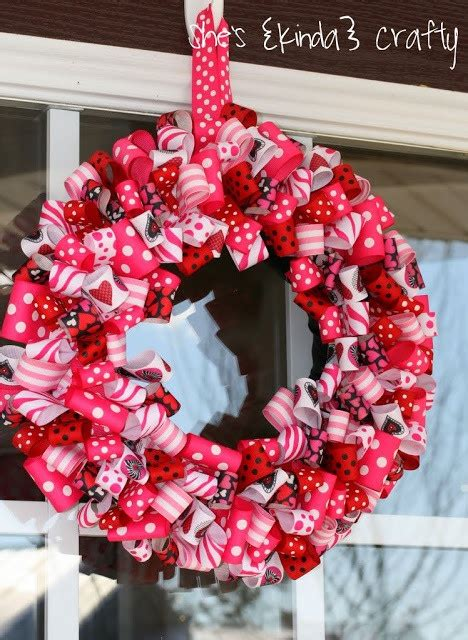 cute valentines day wreath ideas