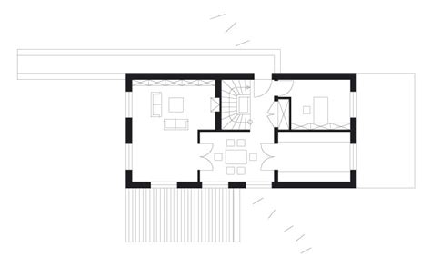 Grundriss Haus Am Hang by Projekte Im Detail Haus Am Hang