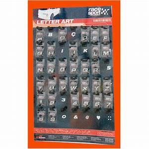 Lettres Adhésives Extérieur : lettres chrome pour monogramme sigle perso en relief l 39 unit ~ Farleysfitness.com Idées de Décoration