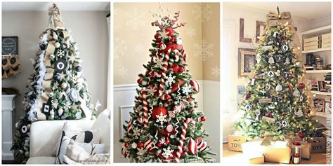 25+ Unique Christmas Tree Decoration Ideas