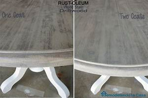 Kitchen Table and Chairs Makeover Driftwood stain