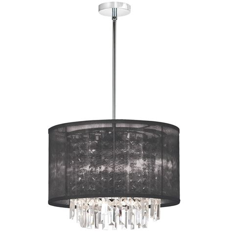 chandelier drum l shades drum chandelier with crystals black linen drum shade