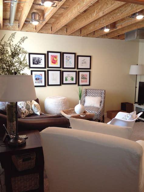 practical  stylish basement ceiling decor ideas shelterness