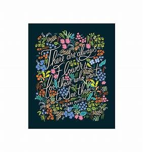 Matisse Quote Art Print by RIFLE PAPER Co. | Made in USA
