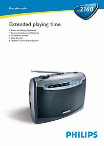 Philips Ae2160  04 User Manual Leaflet Ae2160 04 Pss Enggb