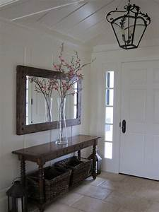 Spaces Entryway Mirror Design Pictures Remodel Decor