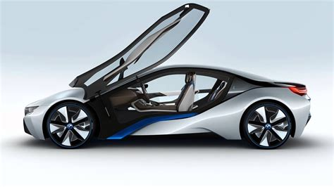 World Debut Of Bmw I8 Electric Hybrid Sports Car Concept