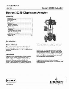 Design 3024s Diaphragm Actuator