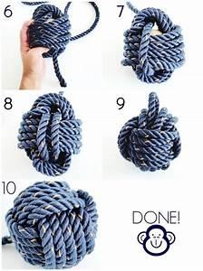 Keltische Knoten Anleitung : diy monkey knot tricks knots and rope ~ Eleganceandgraceweddings.com Haus und Dekorationen
