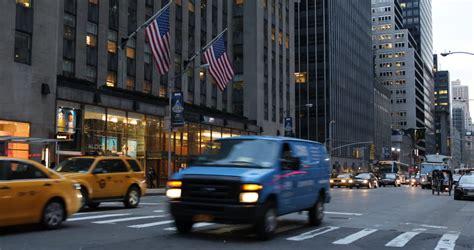 NEW YORK CITY USA MARCH 21 2013 NYC Illuminated Urban