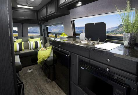 roadtrek motorhomes  introduces bold  interior design