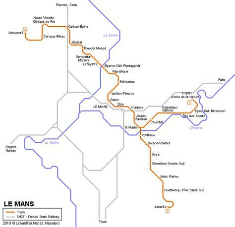 ouvrir des chambres d hotes carte des itinéraires de tram le mans carte