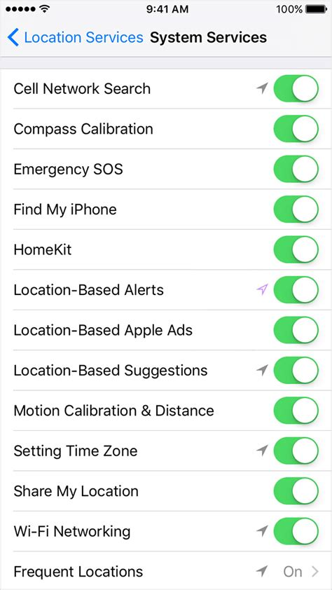 location services on iphone about privacy and location services in ios 8 and later