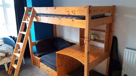 High Sleeper Bed With Sofa by Thuka High Sleeper Bed With Pull Out Sofa Bed And Desk