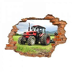 Wandtattoo Kinderzimmer Junge Traktor by Wandtattoo Traktor Loch In Der Wand Kinderzimmer