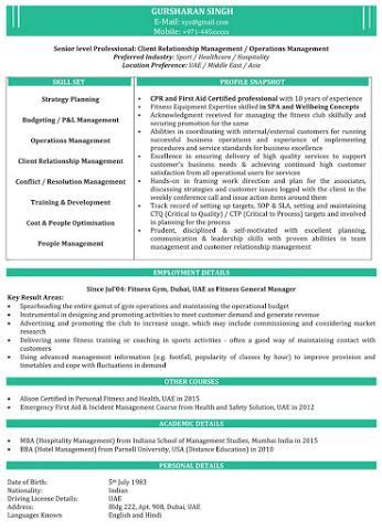 naukri resume sample dinosaurdiscscom