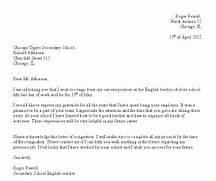 Formal Letter Template 8 Formal Resignation Letter Sample Loan Application Form 9 Professional Resignation Letter Sample With Notice Period Letter Format For Writing A Resignation Letter San Jose State University Guide