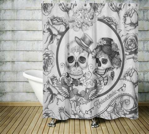sugar skull home decor best 25 sugar skull shower curtain ideas on