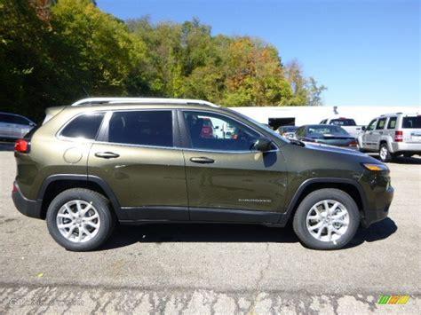 jeep cherokee green 2015 2015 eco green pearl jeep cherokee latitude 4x4 97645832
