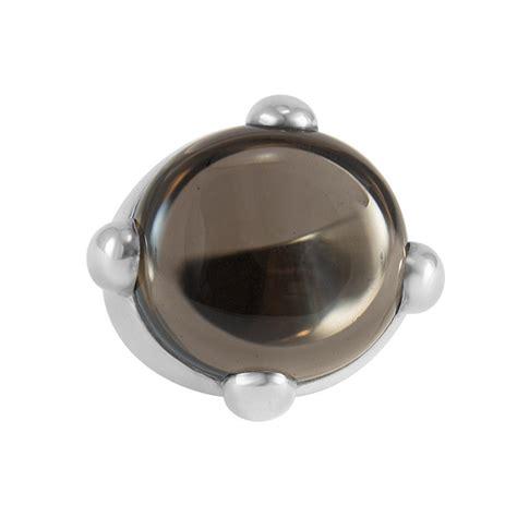 anelli pomellato argento anello pomellato in argento e quarzo mis 17 pomellato