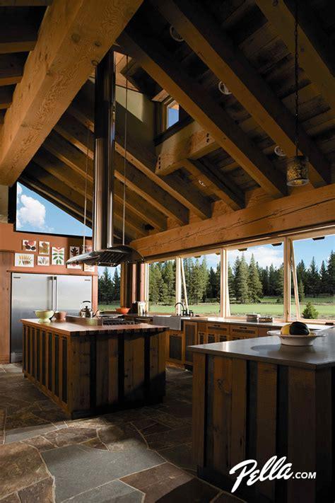 pella architect series awning  fixed windows traditional kitchen cedar rapids
