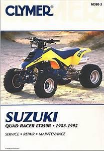 Suzuki Quadracer Repair Manual Lt250r Atv 1985-1992