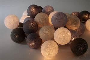 Guirlande Boule Lumineuse : guirlande de boules ~ Teatrodelosmanantiales.com Idées de Décoration