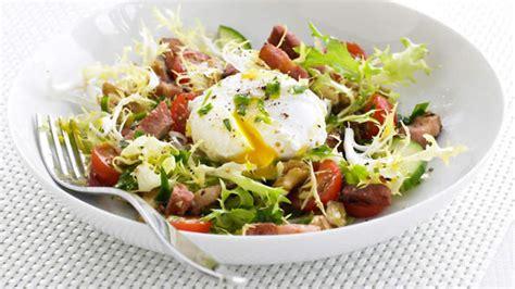 recette de cuisine salade lyonnaise recipe sbs food