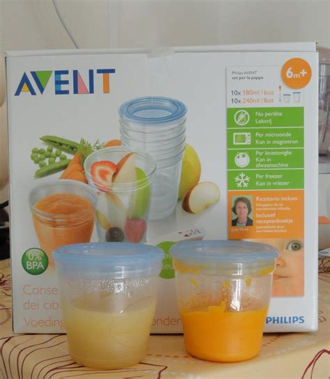 photos kit pots de conservation aliments avent philips par clamiss consobaby