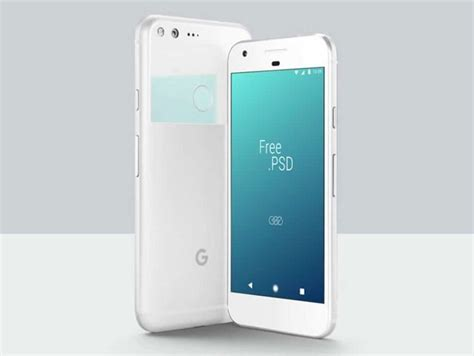 Just add your own custom design inside the. Free Google Pixel PSD Mockup in 2020 (With images ...