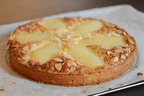 tarte amandine aux poires ou tarte bourdaloue sans gluten d 233 lices