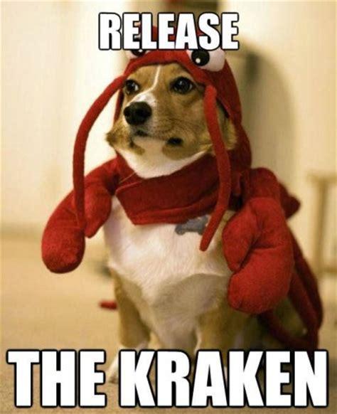 Release The Kraken Meme - giant squid captured on video