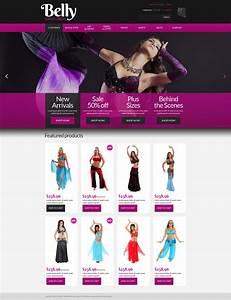 Belly Dance Dress Shop Virtuemart Template  52767