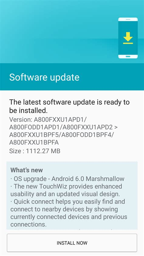 samsung galaxy a8 starts getting the android 6 0 update in