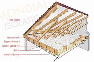 Isolation Thermique Combles : isolation thermique combles perdus maison design mail ~ Premium-room.com Idées de Décoration
