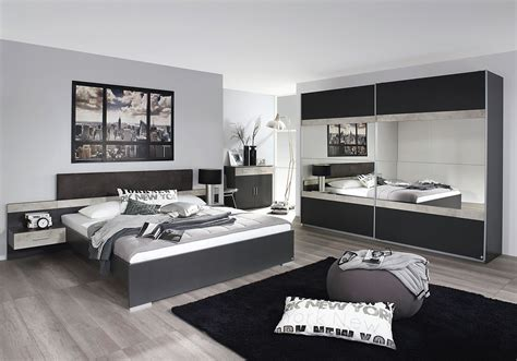 chambre adulte contemporaine grise chambre adulte