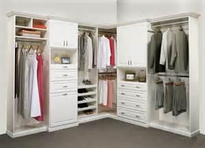 Small Walk-In Closet Corner Ideas