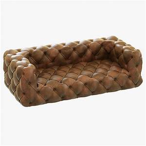 leather sofa tufted preston tufted leather sofa the dump With leather sectional sofa the dump