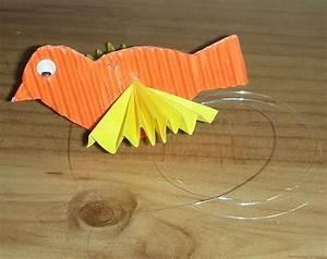 Bricolage Facile En Papier : oiseau cage activit bricolage fabriquer papier jouet ~ Mglfilm.com Idées de Décoration