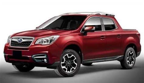 2019 Subaru Pickup Truck Concept Rumors  2018, 2019 And