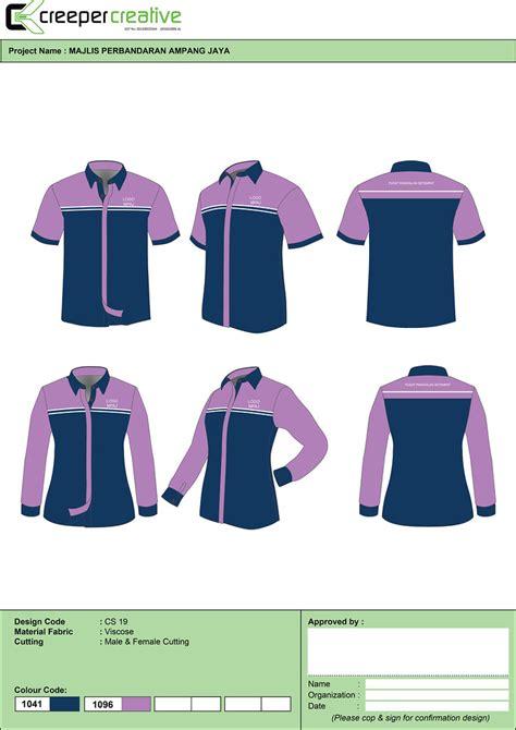 print baju korporat wanita labuh bajukorporat