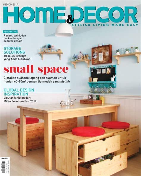 home decor indonesia september  magazine
