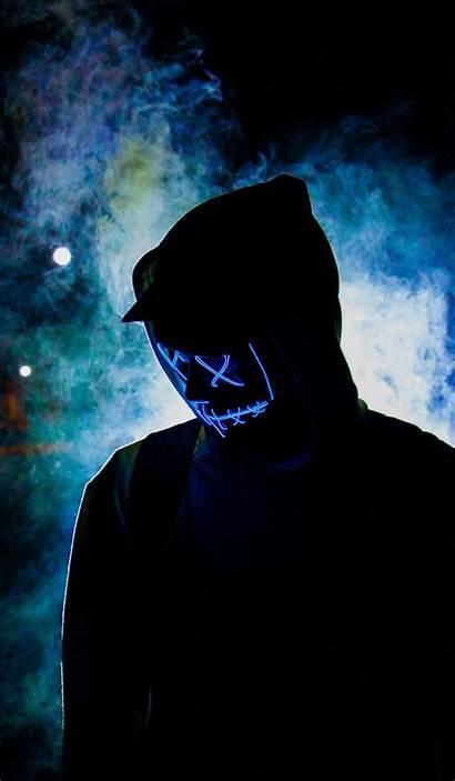 Mask Wallpapers Purge Hacker Iphone Pop Flash