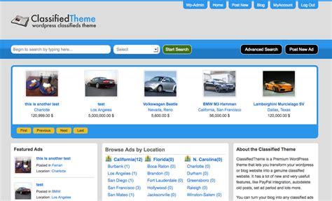 wordpress classified ads theme classified ads script