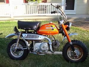 Vintage 1974 Honda Z50 K5 Mini Trail Motorcycle Minibike