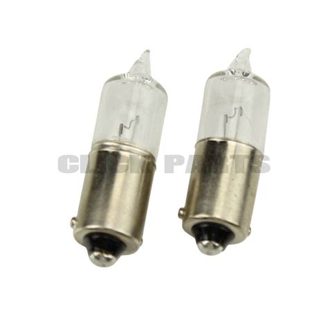 2 x 433c small halogen side light car bulbs 12v 6w bax9s